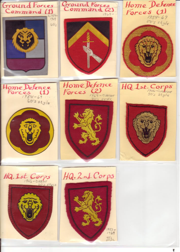 Belgian Army Insignia BelgianInsignia_0001