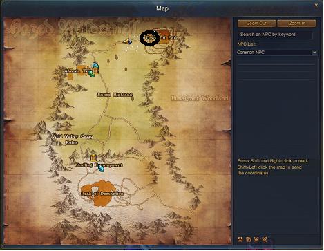 Nag's FW made easy! Map