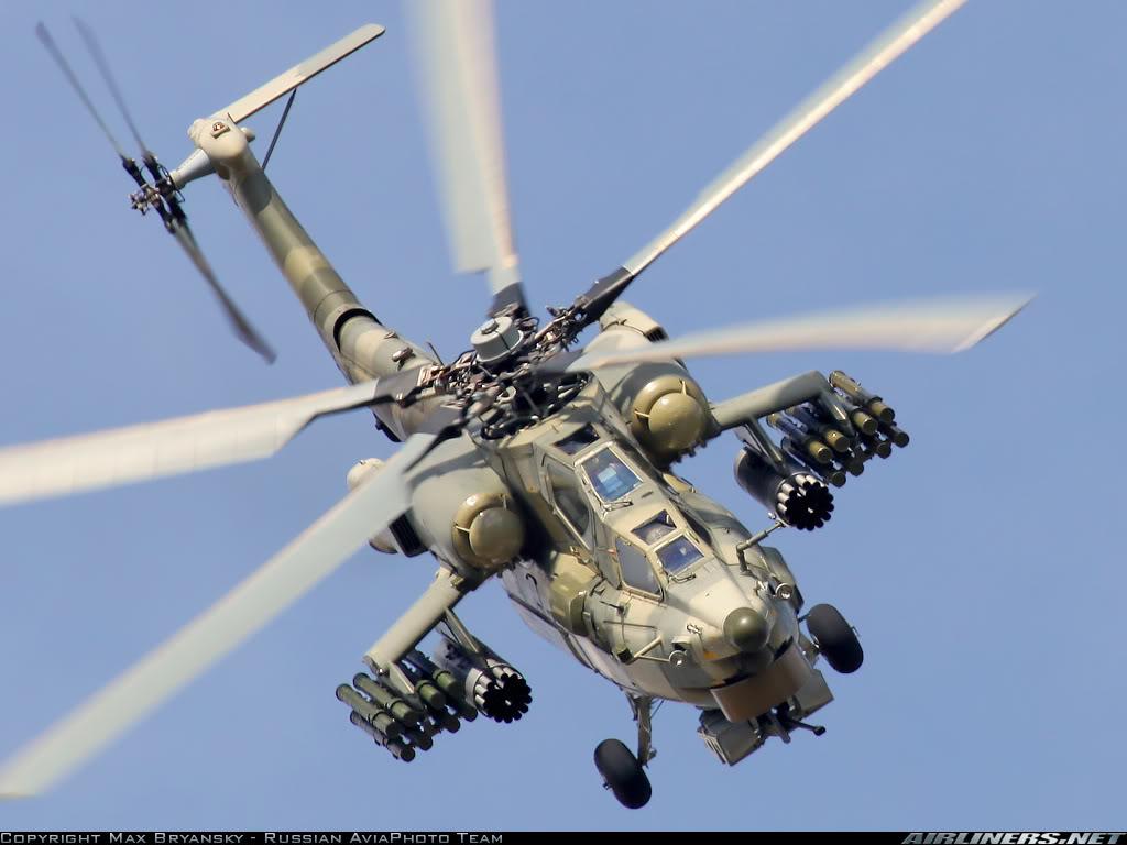 الجزائر طلبت شراء مروحيات Mi-28NE MI-28
