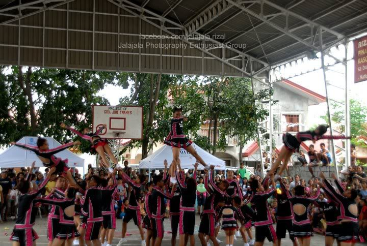 Cheering competition. Cheering2