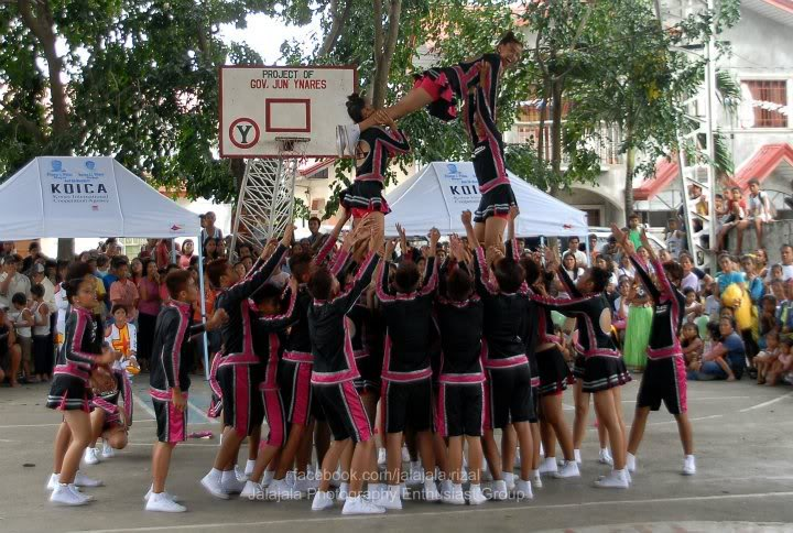 Cheering competition. Cheering7