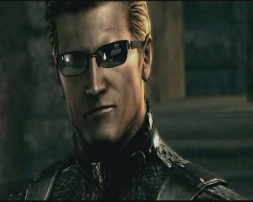 Who is your favorite video game character? Wesker09n