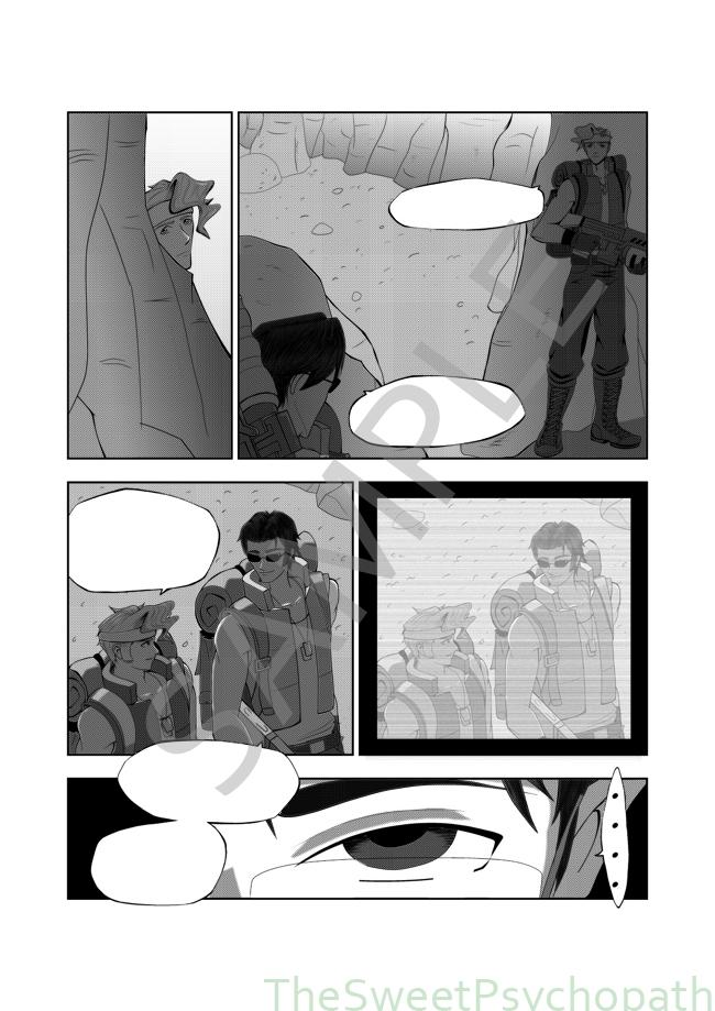 Muestras de comic de Metal Slug Battlefieldsample2