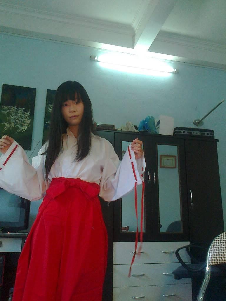 [TQ] Bán đồ cosplay Kikyou( Inuyasha) và Hagoromo Gitsune (Otome ver) ( Nurarihyon no mago) A2095