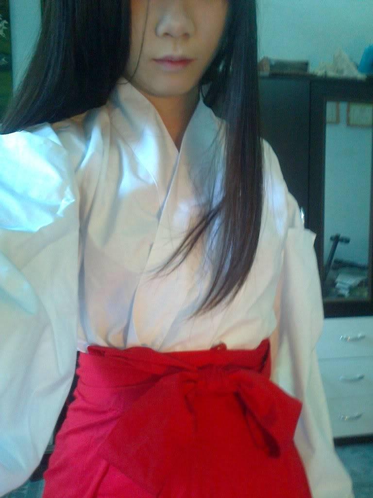 [TQ] Bán đồ cosplay Kikyou( Inuyasha) và Hagoromo Gitsune (Otome ver) ( Nurarihyon no mago) A2099