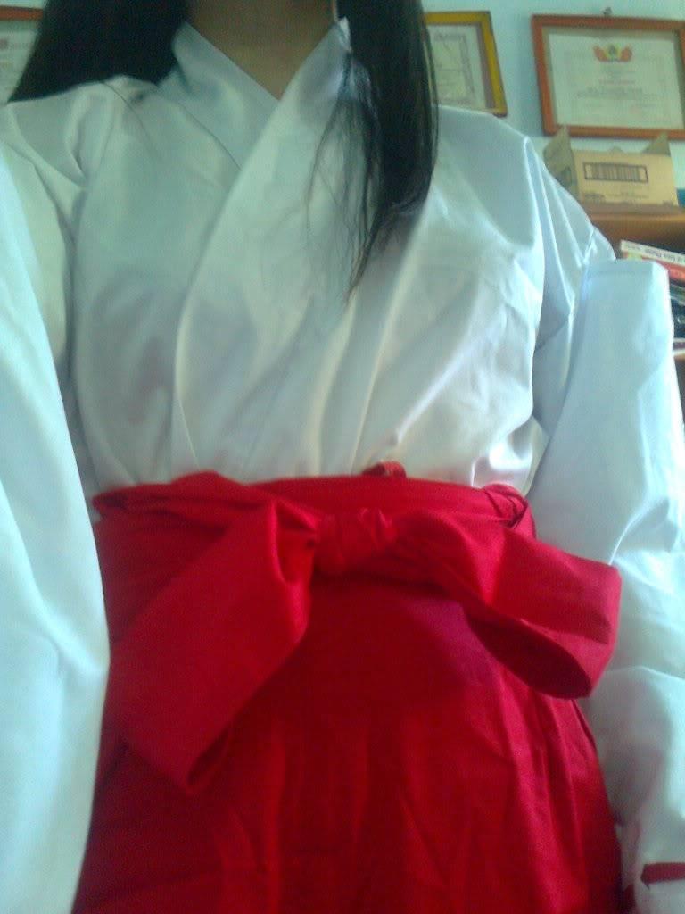 [TQ] Bán đồ cosplay Kikyou( Inuyasha) và Hagoromo Gitsune (Otome ver) ( Nurarihyon no mago) A2106