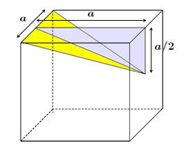 (UFMG) Geometria Espacial Track-13