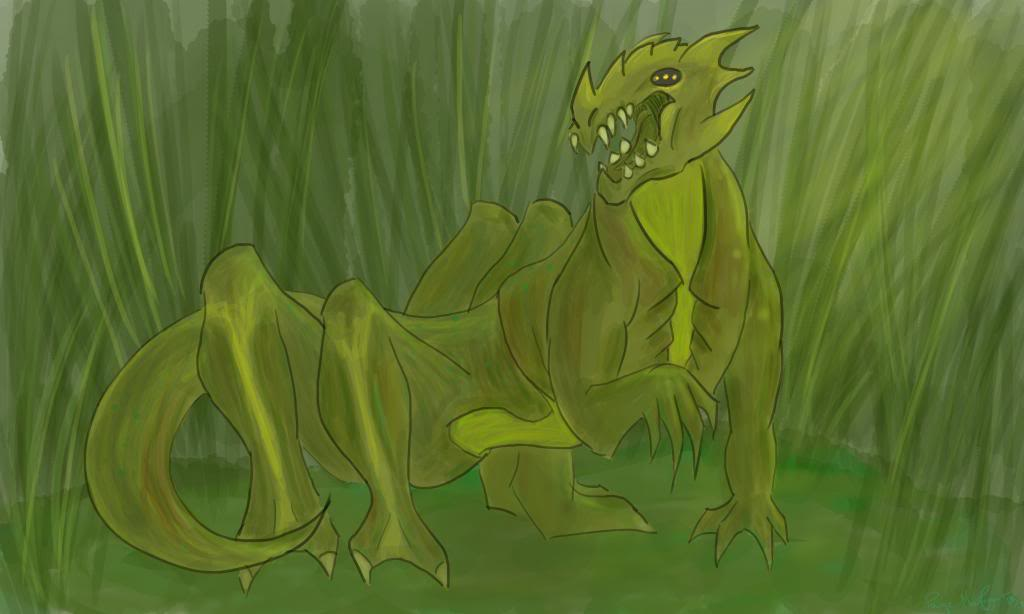 Share Your Finished Illustrations! - Page 2 SwampDragon