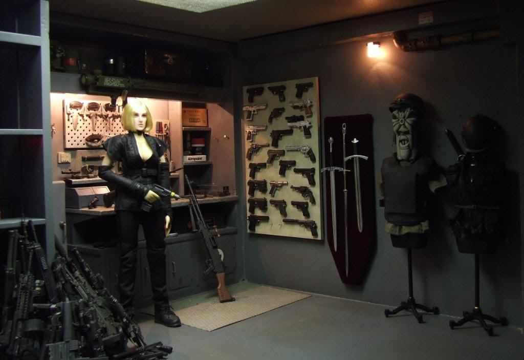 Bunker Diorama - The start of a monster (originally posted by cerberus) Rside