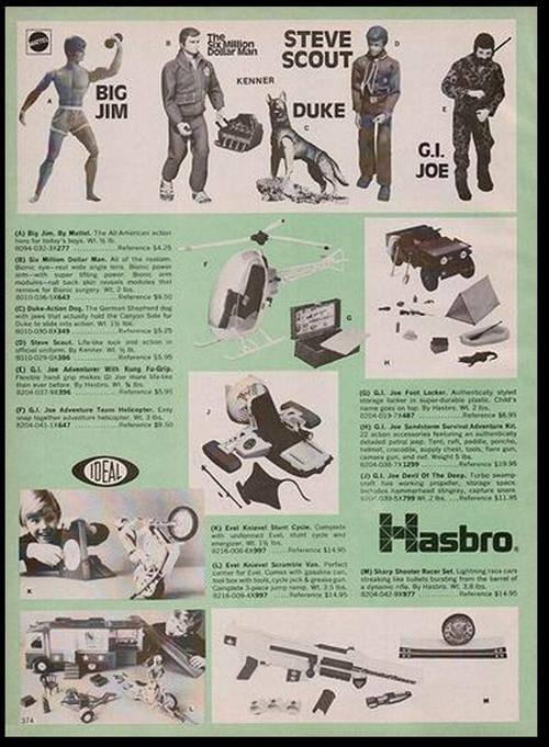 G.I Joe Paper work Onesixad1976