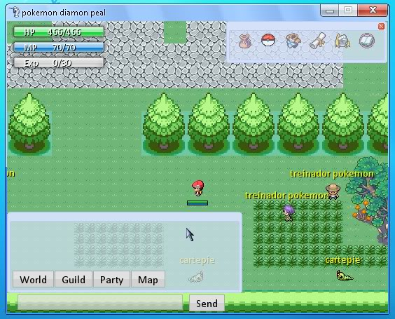 pokemon diamon pearl online Poke
