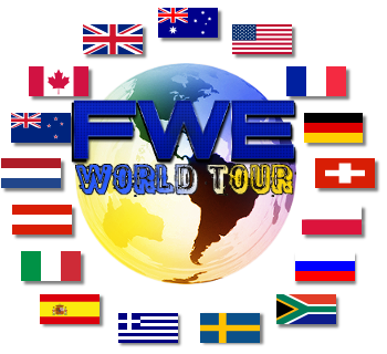 FWE: World Tour 2012 Series Flags