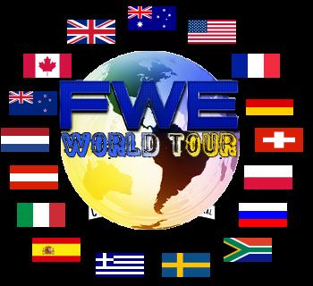 FWE: World Tour 2012 Series Flags
