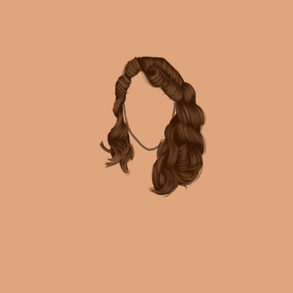 My hair drawing attempts! Hairattempt3