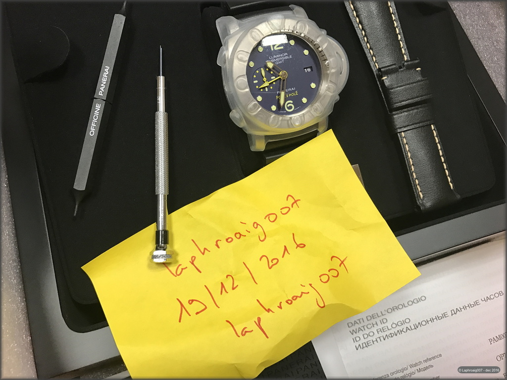 [Vendue] Panerai PAM00719 Luminor Submersible Pole2Pole Mike Horn Laphroaig007_montres_IMG_6288_zpsfh1ypzsh