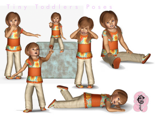 Finds sims3 ToddlerPoses
