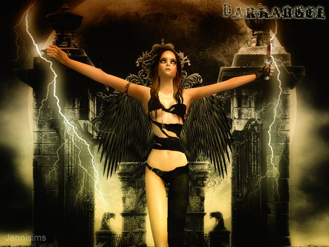 """SIMS ARTISTS  Y  JENNISIMS En el """"Amigo Invisible"""" MAGIC NIGHT Darkangel2"""
