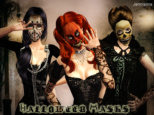 """SIMS ARTISTS  Y  JENNISIMS En el """"Amigo Invisible"""" MAGIC NIGHT Halloweenmask"""