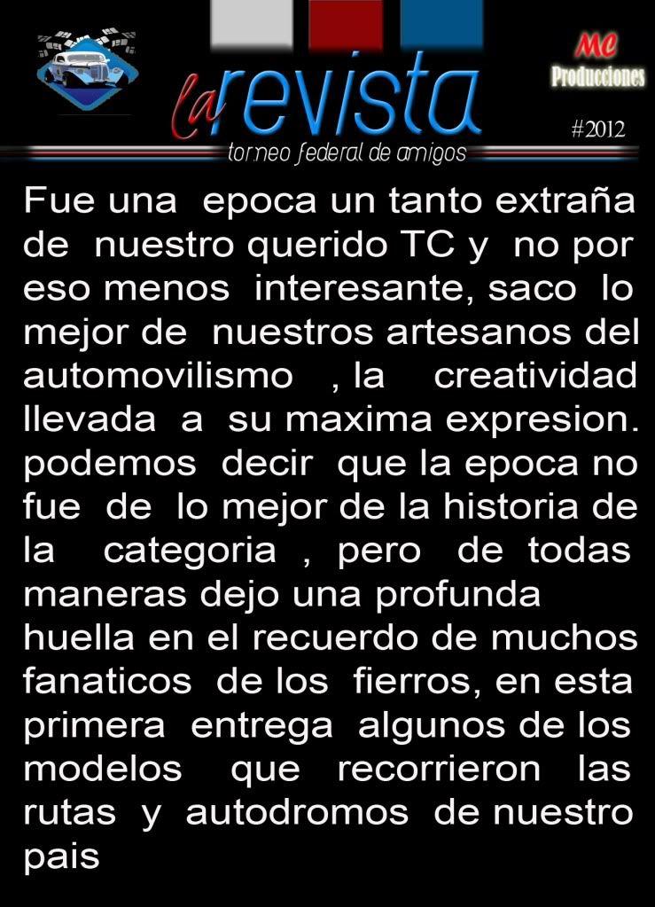EDICION Nro 40/2012 Recuerdo1