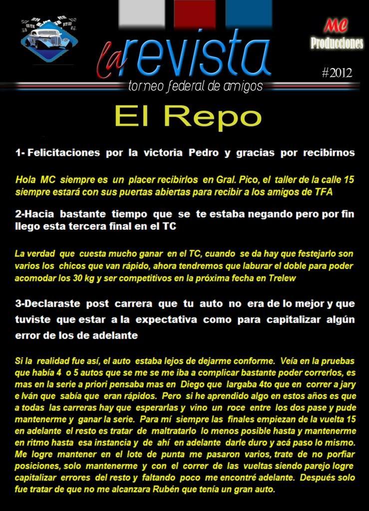 EDICION Nro 40/2012 Repo1