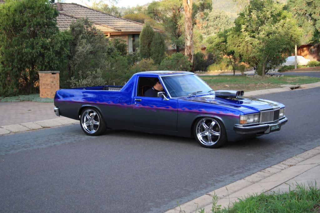 WB ute I built for a mate by GTS Injected Nats2010011