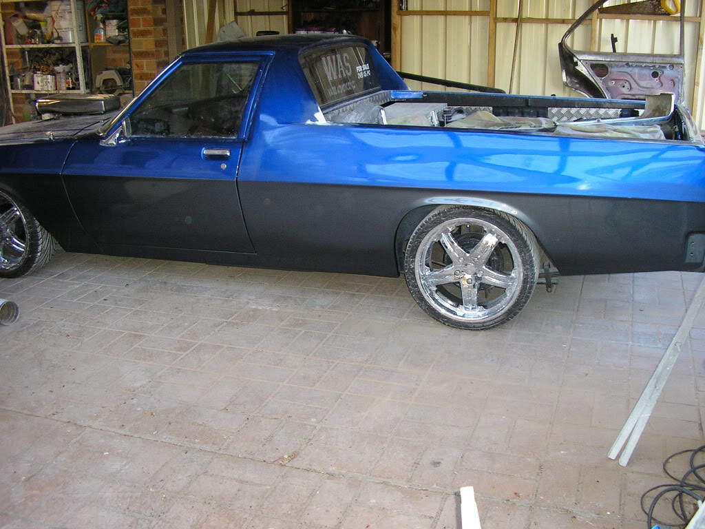 WB ute I built for a mate by GTS Injected Newpaint8