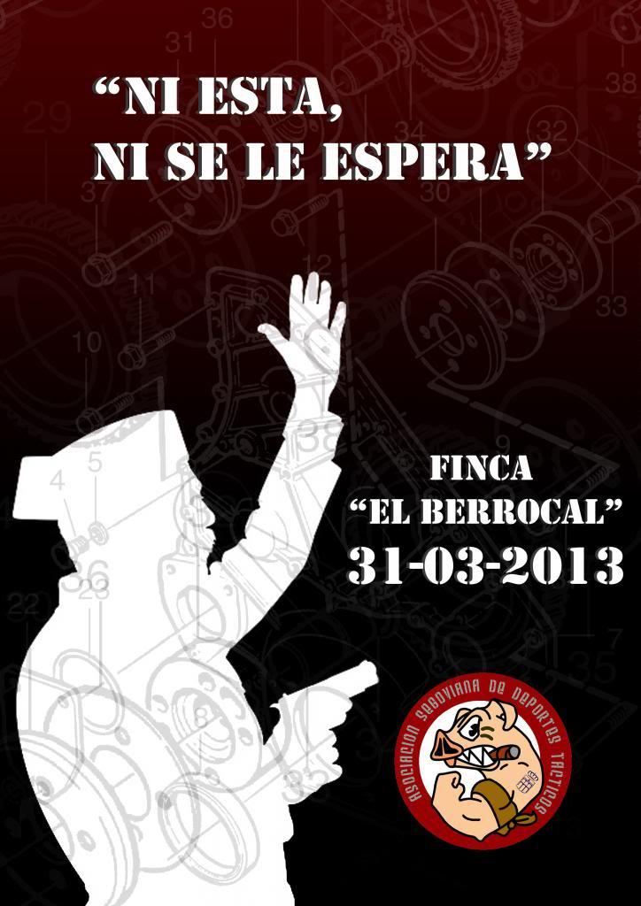 PARTIDA ASDT EL BERROCAL 31-03-13 Cartel