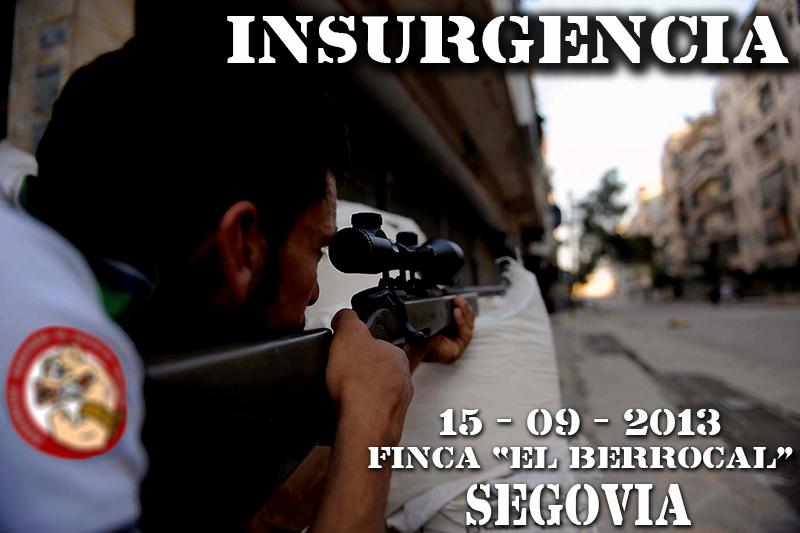 PARTIDA ASDT FINCA EL BERROCAL 15-09-13 Insurgencia