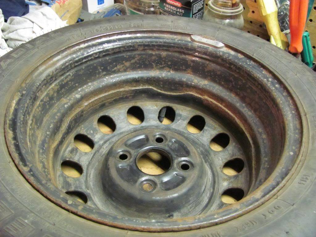 DIY: OEM Wheel Restoration (tires mounted), plus Hubcaps and Lugs -pic heavy IMG_4399