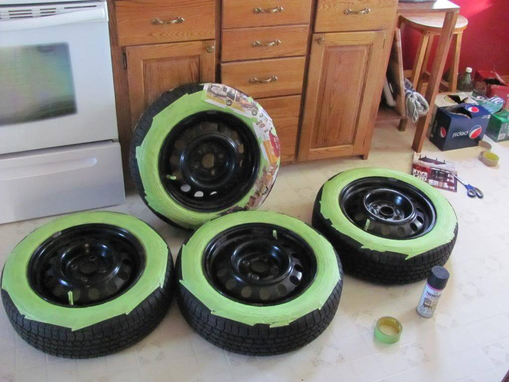 DIY: OEM Wheel Restoration (tires mounted), plus Hubcaps and Lugs -pic heavy IMG_4463