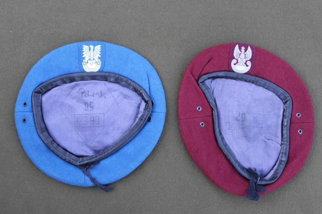 Couple of berets and other bits Polishberet01