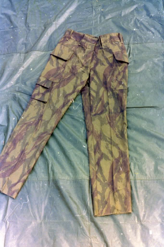 Israeli Camouflage Shirt.....Unusual Pattern Israelipants