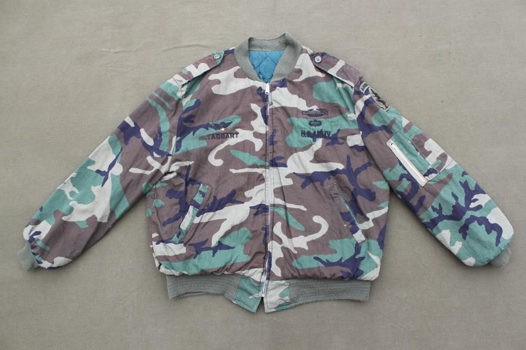 Custom Woodland Flight Jacket to USSF IMG_7804