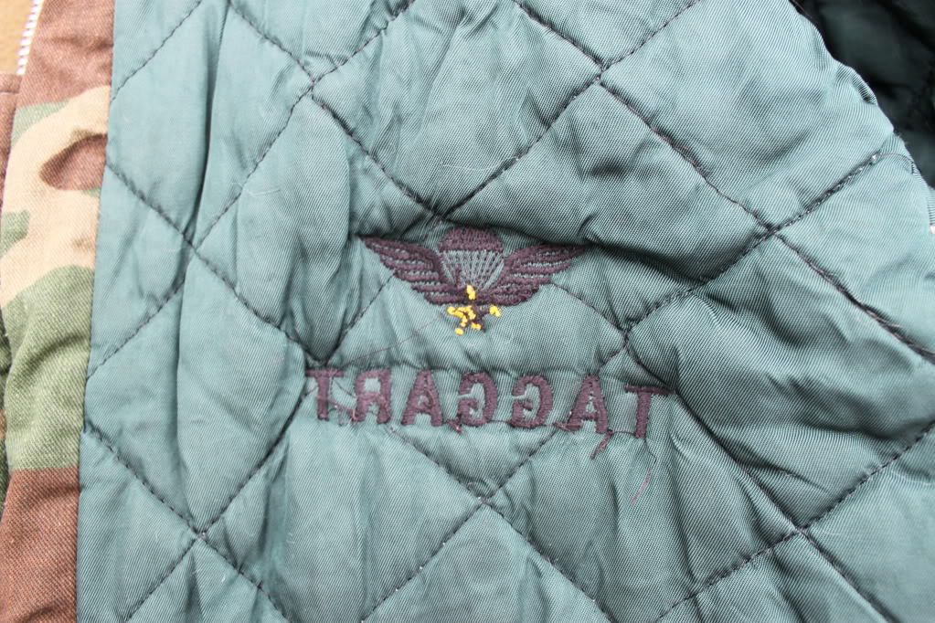 Custom Woodland Flight Jacket to USSF IMG_7808