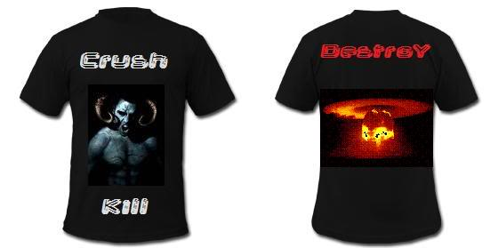 Merchandise TShirt_Template