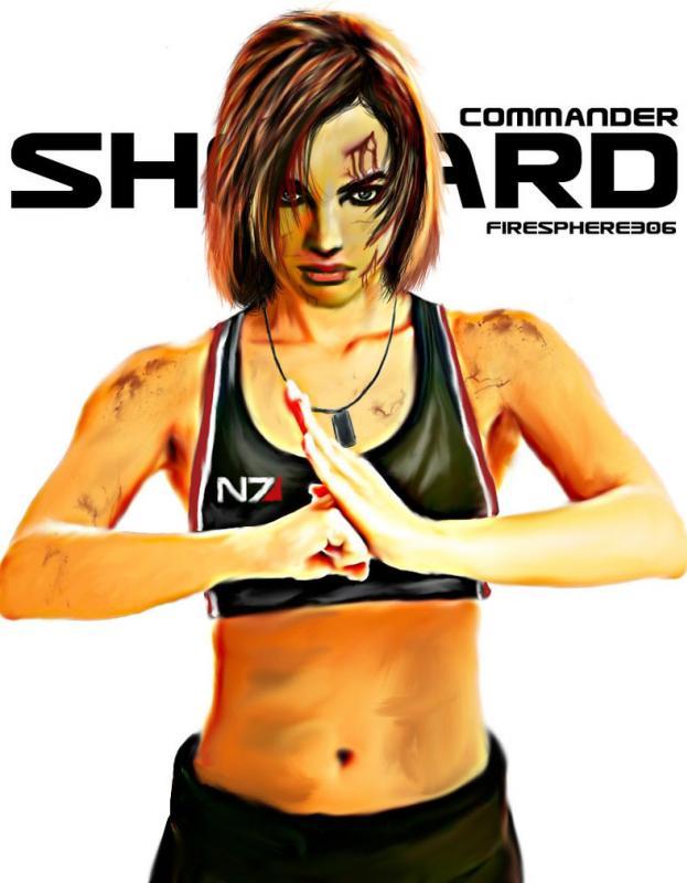 Firesphere306 Deviant Artwork. Commander_shepard_digital_painting_by_firesphere306-d51oetp_zps929a3bf8