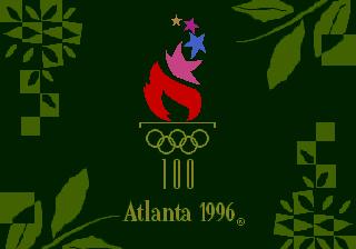 In-Game Screenshots OlympicSummerGamesAtlanta96Scree-1