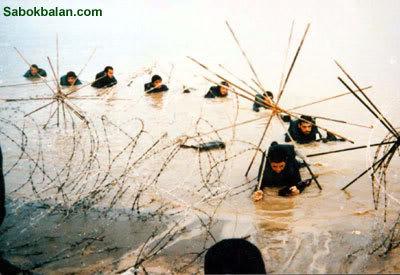 """معركة الفاو الاولى 1986 ....."""" سقوط الفاو بيد ايران """" 1-Men1451"""
