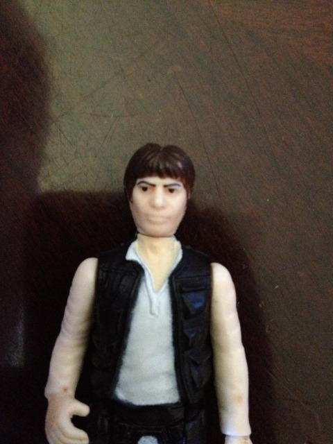 Poch han solo without fat eyebrows, Pure poch or something else???? Swe3