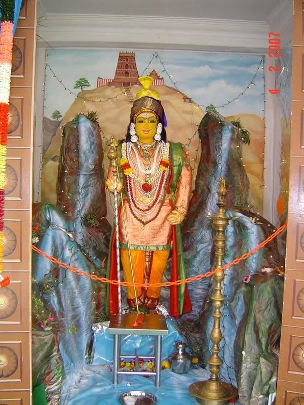 சிங்கை மாரியம்மன் கோவிலில் அறுபடை வீடு முருகன் DSC041552