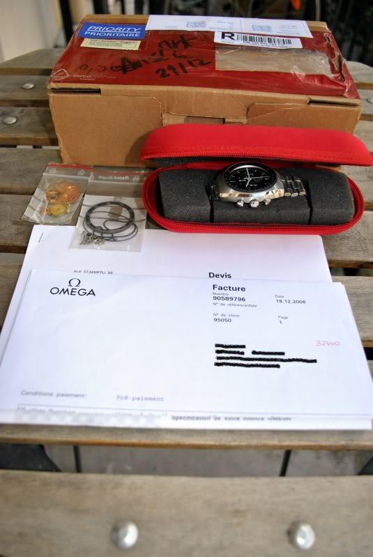 (vendue) Omega speedmaster mark II 1969 Omega9