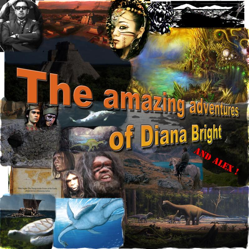 Diana Bright Amazing Adventures Souvenir Amazingdb1024
