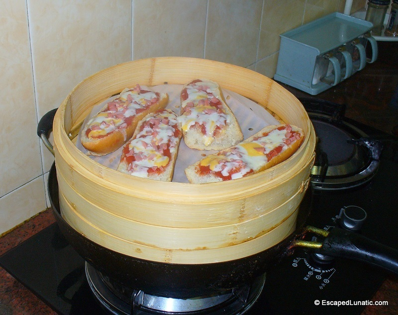 What's your favorite kitchen/garden gadget? - Page 6 FrenchBreakPizza_Steamed