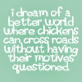 Read this before posting in the 'Avatars' forum! Chickencrossing