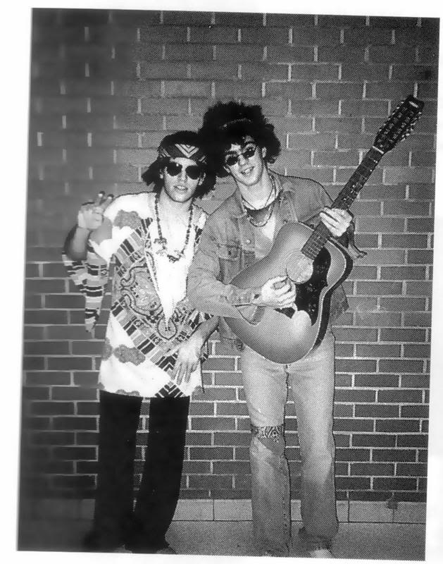 Pictures of the band Bradandadamhippies