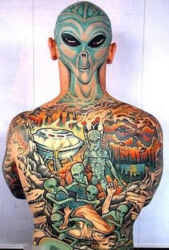 Et alors... C'est ma peau j'en fais ce que je veux ! Tattoos