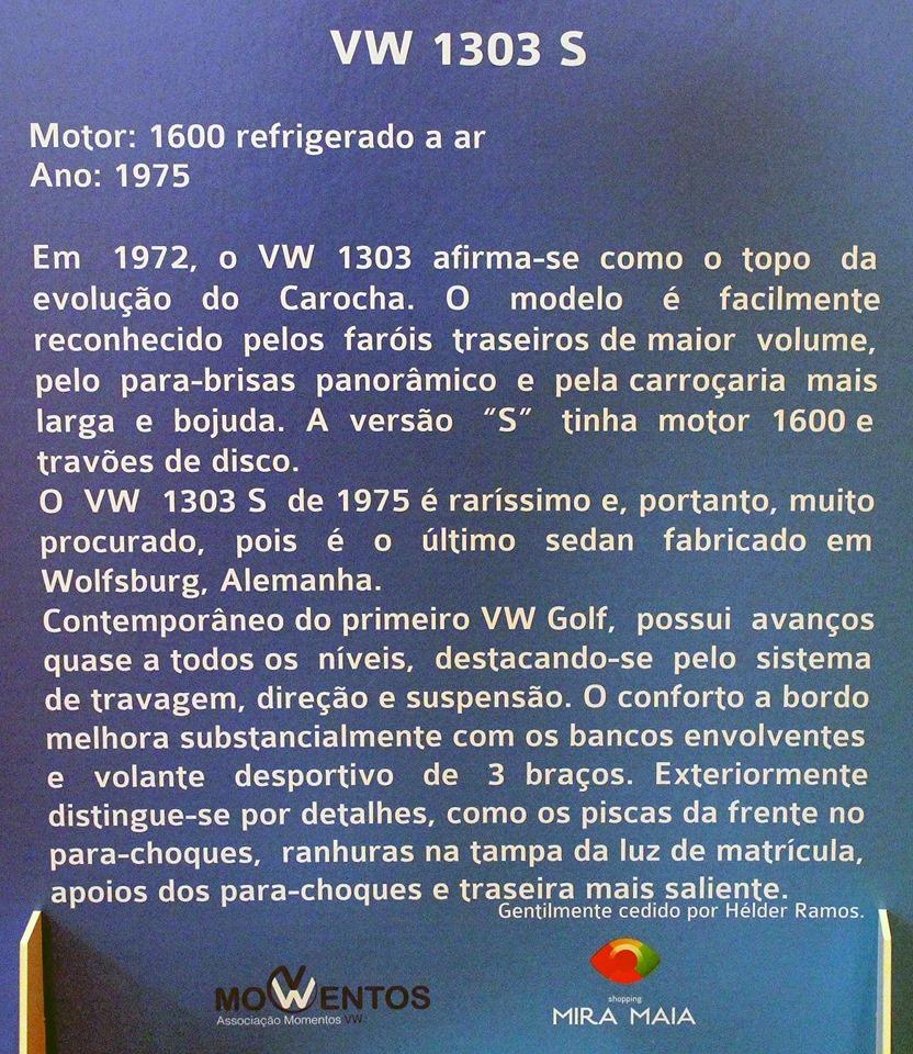 Exposição Clássicos Volkswagen | 1 a 10 maio'15 | C.C. Mira-Maia 11205506_479058208926476_4876319587903803506_n_zpsiqdfuwym