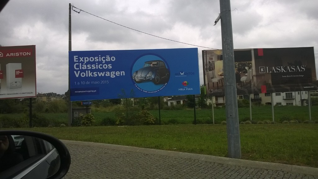 Exposição Clássicos Volkswagen | 1 a 10 maio'15 | C.C. Mira-Maia WP_20150416_002_zpsmrrcso8d