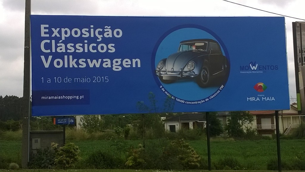 Exposição Clássicos Volkswagen | 1 a 10 maio'15 | C.C. Mira-Maia WP_20150416_003_zpsolvogbth