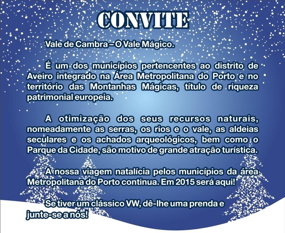 11º Convívio de Natal de Amigos dos VW Clássicos - 12 Dez. 2015 - Vale de Cambra Convite_zpsatfdmi4r